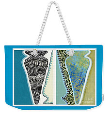 Rhythm And Rhyme Weekender Tote Bag