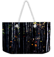 Weekender Tote Bag featuring the photograph Rhythm Of Leaves Falling by Bruce Patrick Smith