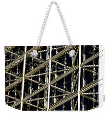 Weekender Tote Bag featuring the photograph Rhythmic Elegance 3 by Lynda Lehmann