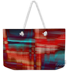 Rhythmic Stripes Weekender Tote Bag