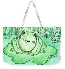Ribbittt.... Weekender Tote Bag