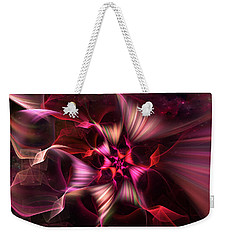 Ribbon Candy Rose Weekender Tote Bag