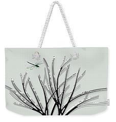 Weekender Tote Bag featuring the photograph Ribbon Grass by Asok Mukhopadhyay