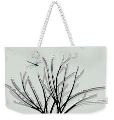 Ribbon Grass Weekender Tote Bag by Asok Mukhopadhyay