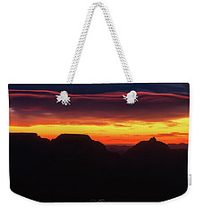 Ribbon Sunrise Weekender Tote Bag