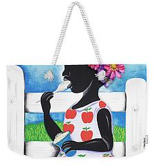 Rice Cream Girl Weekender Tote Bag
