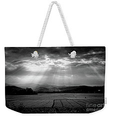 Rice Field Rays  Weekender Tote Bag