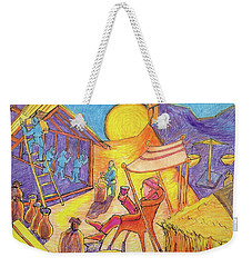 Rich Fool Parable Painting By Bertram Poole Weekender Tote Bag by Thomas Bertram POOLE