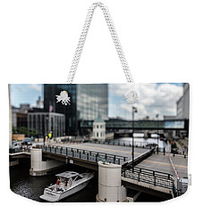 Rich People Holding Up Traffic In The Itty-bitty-city Weekender Tote Bag