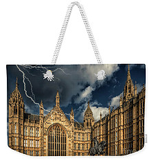 Weekender Tote Bag featuring the photograph Richard The Lionheart by Adrian Evans