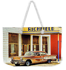 Richfield Gas Weekender Tote Bag by Steve McKinzie