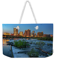 Weekender Tote Bag featuring the photograph Richmond Twilight by Rick Berk