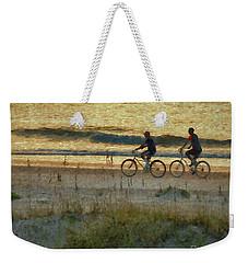 Ride At Dawn Weekender Tote Bag
