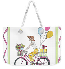 Ride In Style - Happy Birthday Weekender Tote Bag