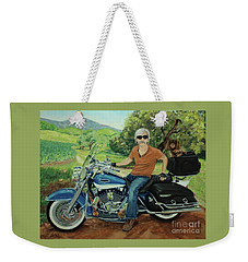 Ride In The Birksire's Weekender Tote Bag
