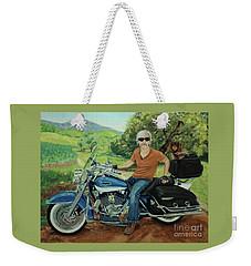 Ride In The Birksire's Weekender Tote Bag