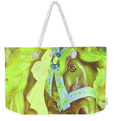 Ride Of Old Green Weekender Tote Bag