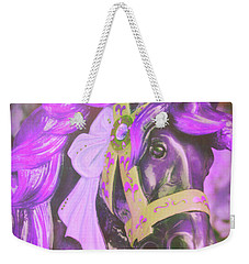 Ride Of Old Purples Weekender Tote Bag