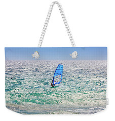 Weekender Tote Bag featuring the photograph Ride The Waves, Scarborough Beach by Dave Catley