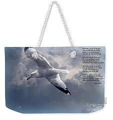 Ride The Wings Of Angels Weekender Tote Bag