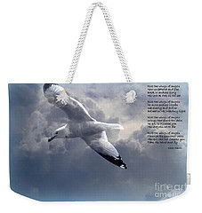 Ride The Wings Of Angels Weekender Tote Bag