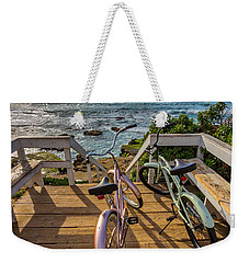 Ride With Me To The Beach Weekender Tote Bag