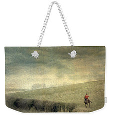 Rider In The Storm Weekender Tote Bag