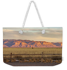 Ridge Outside Alamogordo Weekender Tote Bag