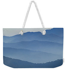 Ridgelines Great Smoky Mountains Weekender Tote Bag