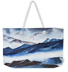 Ridgelines Weekender Tote Bag