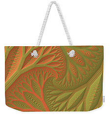 Ridges And Valleys Weekender Tote Bag by Lyle Hatch