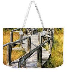 Ridges Sanctuary Crossing Weekender Tote Bag by Christopher Arndt