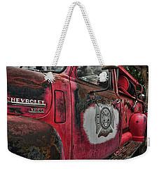 Ridgway Fire Truck Weekender Tote Bag