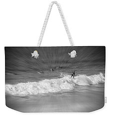 Riding It Out Weekender Tote Bag by Susan  McMenamin