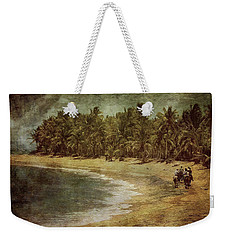 Riding On The Beach Weekender Tote Bag