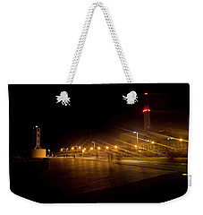 Weekender Tote Bag featuring the photograph Riding Station, Tel Aviv by Dubi Roman