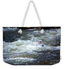Riding The Flume Weekender Tote Bag