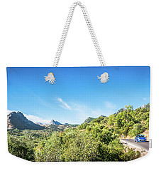 Riding The Roads Of Andalucia Weekender Tote Bag