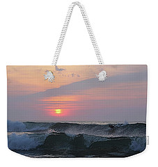 Riding The Second Wave Weekender Tote Bag