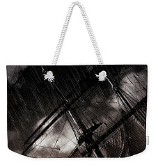 Riding The Storm Weekender Tote Bag