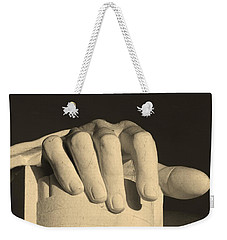 Right Hand Of The Man Weekender Tote Bag
