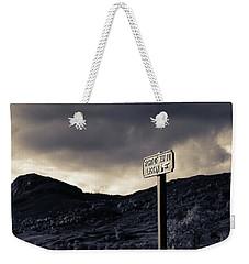 Right Of Way To Laggan Weekender Tote Bag