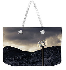 Right Of Way To Laggan Weekender Tote Bag