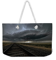 Right On Track Weekender Tote Bag