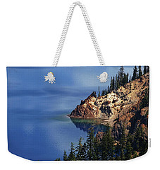 Right Side Of Crater Lake Oregon Weekender Tote Bag