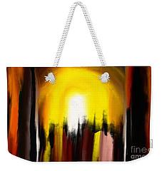 Right Way Weekender Tote Bag by Rushan Ruzaick