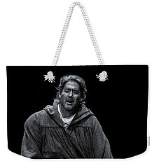 Weekender Tote Bag featuring the photograph Rigoletto Pieta by KG Thienemann