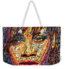 Rihanna Weekender Tote Bag by Angie Wright