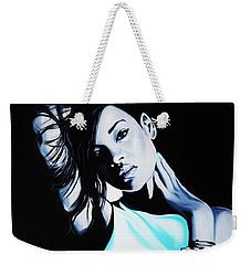 Rihanna Weekender Tote Bag by Richard Garnham