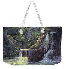 Rim Lit Falls Weekender Tote Bag